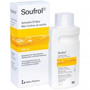 Soufrol Bain huileux au soufre (800ml)