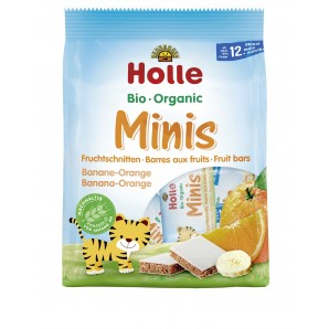 Holle - Bio-Minis Banane Orange (100g)