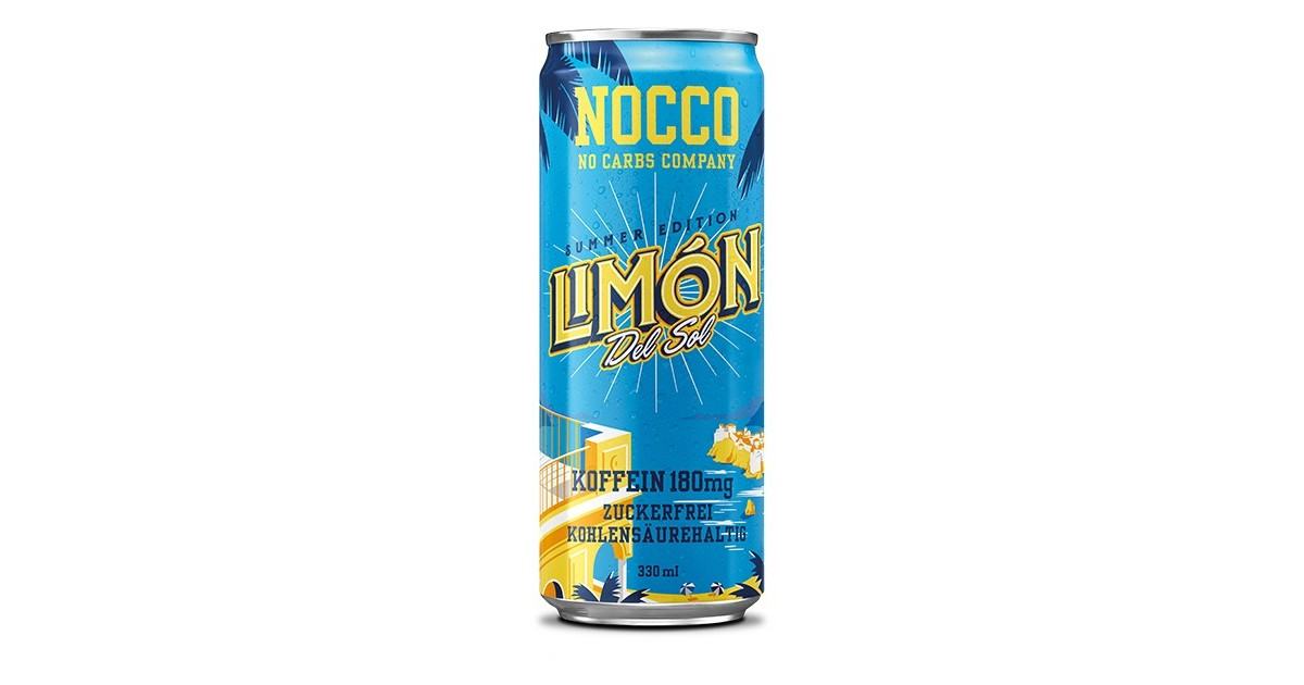 NOCCO Limón Del Sol (330ml)