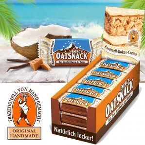 Davina EnergyOatSnack caramel coconut cream (15x20g)