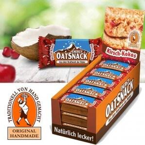 Davina EnergyOatSnack cherry coconut (15x65g)