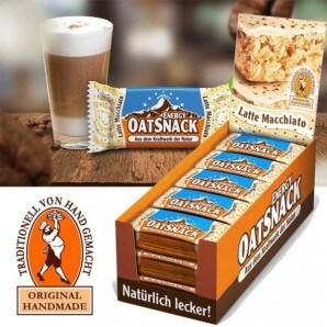 Davina EnergyOatSnack Latte Macchiato (15x20g)