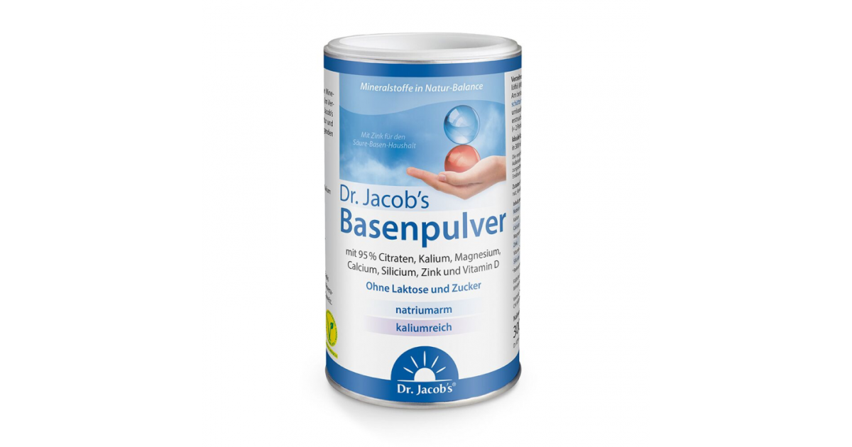 Dr. Jacob's Basenpulver (300g)