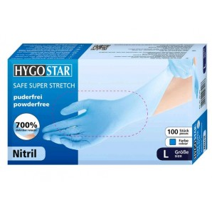 HYGOSTAR nitrile safe gloves Super Stretch