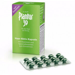 PLANTUR 39 active hair capsules (60 pieces)