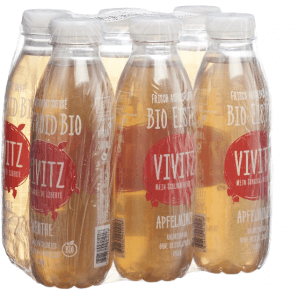 VIVITZ - Organic Ice Tea Apple Mint (6x5dl)