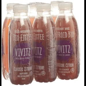 VIVITZ - Organic Classic Lemon Iced Tea (6x5dl)