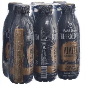 VIVITZ - Thé noir biologique infusé à froid (6x5dl)