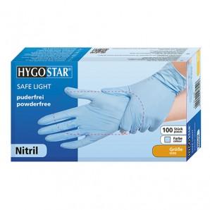 HYGOSTAR Nitril Safe Handschuhe Super Stretch (100 Stk) SMALL
