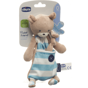 Chicco pacifier holder POCKET FRIENDS Boy