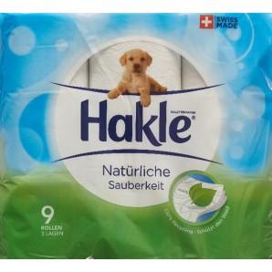 Hakle Natural Cleanliness FSC (9 pcs)