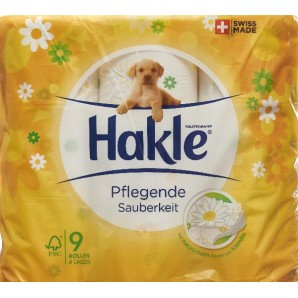 Hakle care cleanliness FSC (9 pcs)
