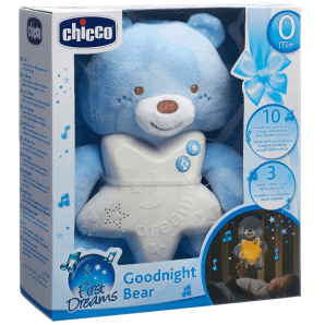 Chicco good night bear blue