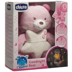 Chicco good night bear pink