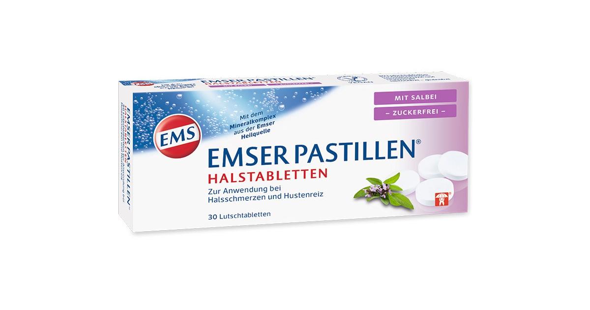 EMSER pastilles with sage, sugar-free (30 pieces)