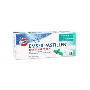 EMSER Pastillen mit Menthol zuckerfrei (30 Stk)