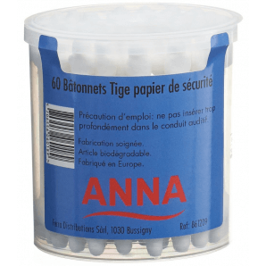 Anna cotton swab paper (60pcs)