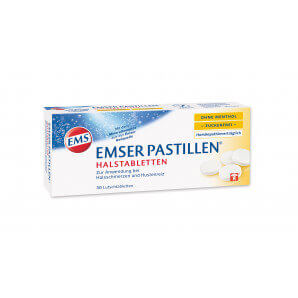 EMSER Pastilles sans sucre sans menthol (30 pièces)