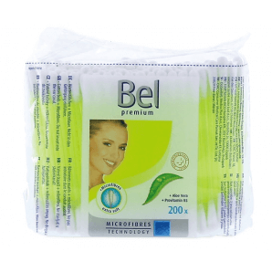 Bel Premium Wattestäbchen Minigrip-Beutel (200stk)