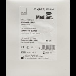 IVF Wattestäb Holz gross steril (15cm)