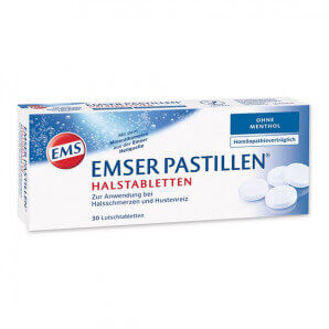 EMSER Pastillen ohne Menthol (30 Stk)