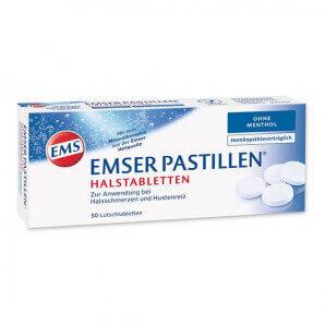 EMSER pastilles without menthol (30 pieces)