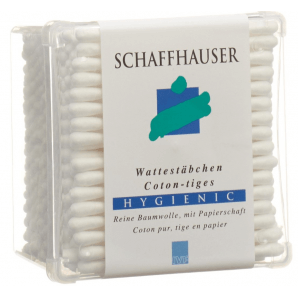 SCHAFFHAUSER cotton swabs Hygienic (200pcs)
