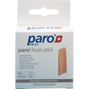 Paro Brush Sticks Zahnholz mittel Mint (96 Stk)
