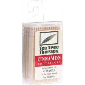Tea Tree Therapy Zahnstocher Zimt (100 Stk)
