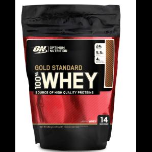 Optimum 100% Whey Gold Standard Vanilla Ice Cream sachet (450g)