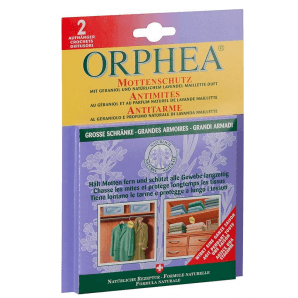 Orphea moth protection hanger with lavender scent