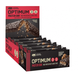 Optimum Protein Bar Chocolate-Caramel (10 x 60g)
