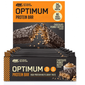 Optimum Protein Bar Chocolate-Peanut But (10 x 62g)