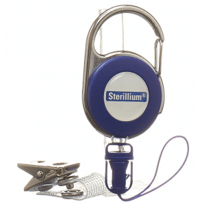 Sterillium clip for smock bottles