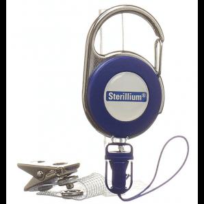 Sterillium clip for smock bottles