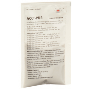 Aco Pur instrument disinfection (25g)