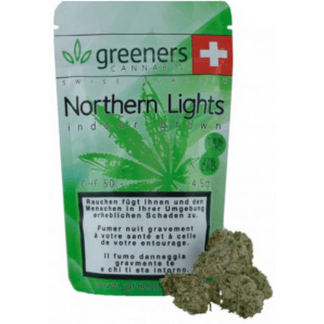 Greeners CBD – Northern Lights (1g)