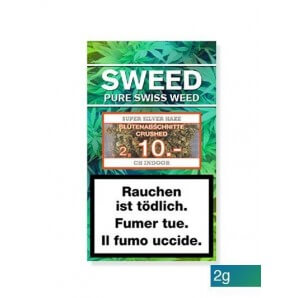 Sweed CBD-Cannabis – Super Silver Haze (Flower sections) (2g)