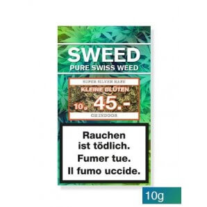 Sweed CBD-Cannabis – Super Silver Haze (small flowers) (10g)