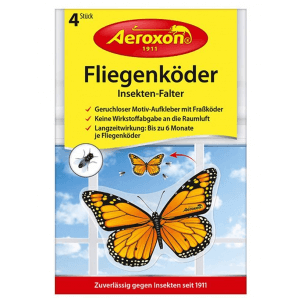 Aeroxon insect moth (4 pcs)
