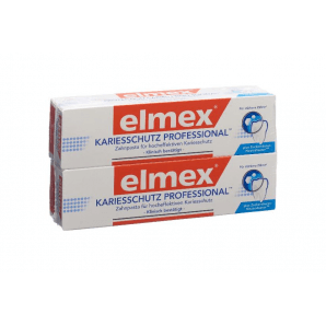 Elmex Caries Protection Professional toothpaste (2 x 75 ml)