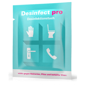 Desinfect pro disinfectant wipe (10 pcs seperately packaged)