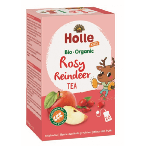 Holle Rosy Reindeer fruit tea organic 20 bags