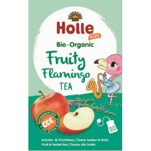 Holle Organic Fruity Flamingo Children's Tea (20 pcs)