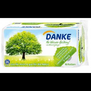 DANKE Toilettenpapier 3-lagig (8 Stk)