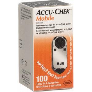 Accu Chek - Mobile Testkassetten (2x50 Stk)