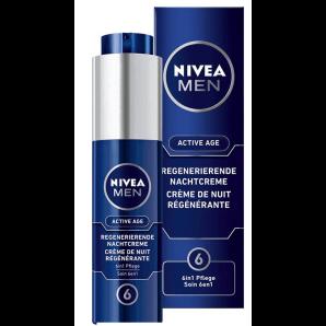 Nivea Men Active Age Regenerating Night Cream (50ml)