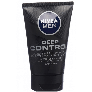 Nivea Men Waschgel Gesicht & Bart Deep Control (100ml)