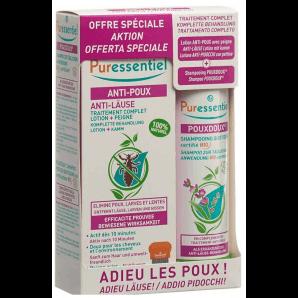 Puressentiel Box Ant-Läuse Lotion und Shampoo Pouxdoux Bio (100ml)