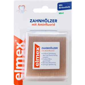 Elmex toothpicks (3 x 38 pieces)